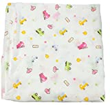 #8: PEUBUD™ Organic Cotton baby muslin cloth swaddle/wrap/blanket for new born(100X100 cm)(Pack of 1)(0-12 months)