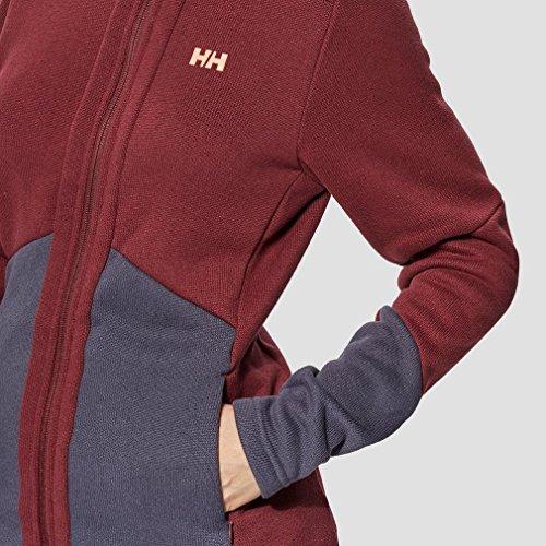 Helly Hansen W Eq, Cappotto Donna Rosso (Granato)