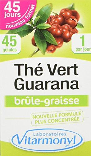 VITARMONYL Thé Vert Guarana 60 Gélules - Lot de 2