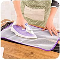 FineX Insulated Ironing Pad mesh, Iron Protection, Nylon mesh, Iron Net for Your Clothes (1)