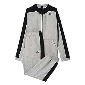 adidas TS Ho Jo Survêtement Homme Gris/Bleu FR : S (Taille Fabricant : 168)