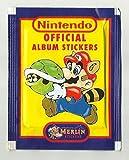 NINTENDO Official Album Stickers Merlin NES Official Sticker Collection 1992 (6 Aufkleber) Bild
