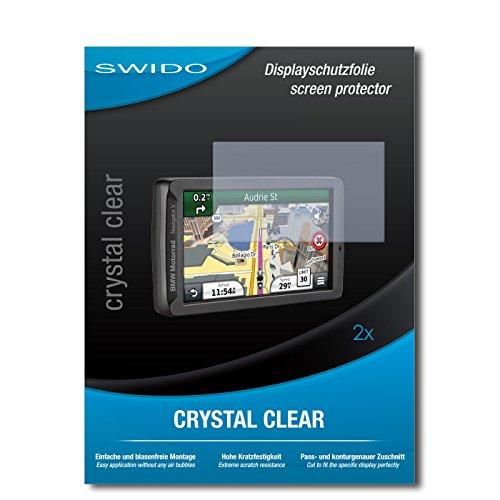 2 x SWIDO® Protector de pantalla BMW Motorrad Navigator V Protectores de...