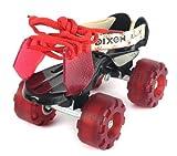 Dixon 1HTRR Aluminum Roller Skates, Adult (Blue)