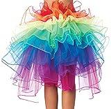 Pengniao Falda Tutu Mujer Faldas de Tul Largas Falda Tul Disfraz Fiesta Larga para Bodas Disfraces con Tutu Ballet Largo Tutú Adulto Tutus Largos para Adultos Enaguas para Vestidos Pollera de Tul