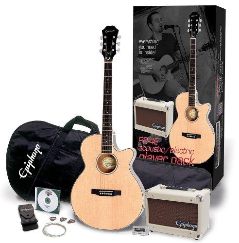 EPIPHONE ppgr-eep4nach1-eu pr-4e Akustische Gitarre 240V (Gitarre Electric Gibson)