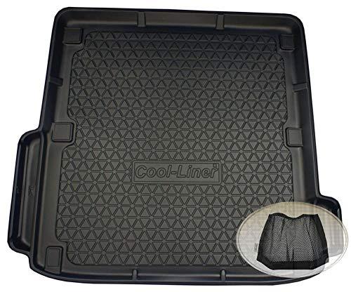 ZentimeX Z3396971 Diamanten-Design Kofferraumwanne fahrzeugspezifisch + Klett-Organizer (Laderaumwanne, Kofferraummatte)