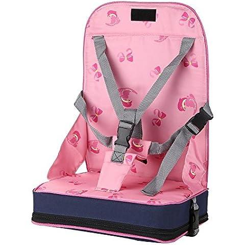 EchoAcc® Portatile Pieghevole del Cablaggio del bambino Infantile Dining Chair
