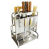 Küchenwagen HWF Küche Metall Rack Arbeitsplatte Zähler Regal Arbeitsplatte Organizer, 33,5 * 22 * 39 cm