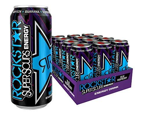 Rockstar Energy Drink Super Sours Blue Raspberry - gebraucht kaufen  Wird an jeden Ort in Deutschland