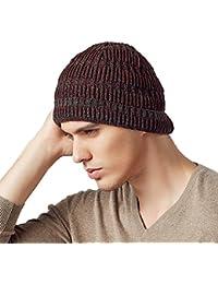 15f5e4920c8b0a Kenmont Autumn Winter Outdoor Warm Men Boy Male Wool Knit Beanie Hat Skull  Cap