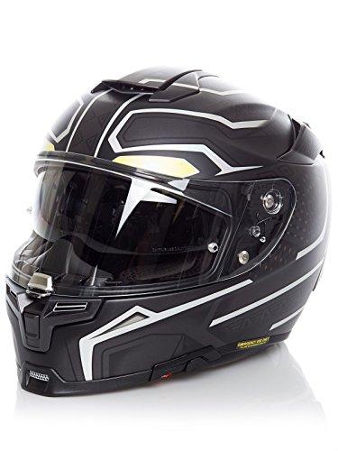 Casco Moto Hjc Marvel Rpha 70 Black Panther Nero (Xs, Nero)