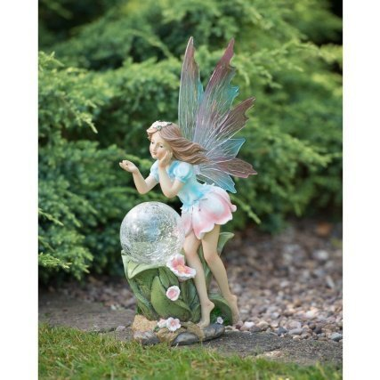 Solar-Power-Fairy-with-Bright-White-LED-Light-Crackle-Ball-Decorative-Garden-Light-Ornament
