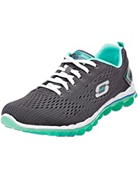 Skechers Skech-Air 2.0 Aim High Multisports outdoor Femme Schwarz (Bkhp) 39.5 EU