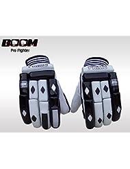 BOOM Prime de piel mano derecha Batsman profesional de deportes guantes de bateo para Cricket Wicket Keeping (Free UK SHIPPING)