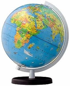 Columbus Terra globe illuminé pour enfants, diamètre 26 cm