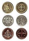 LARP-Münzen Piraten / Fantasy-Währung Spiel-Geld von Battle-Merchant Ausführung ohne Beutel