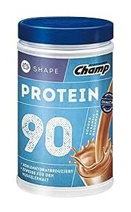 Champ Shape Protein 90 Eiweißshake, 24 g Protein pro Portion, Schoko-Karamell, 390 g Portion