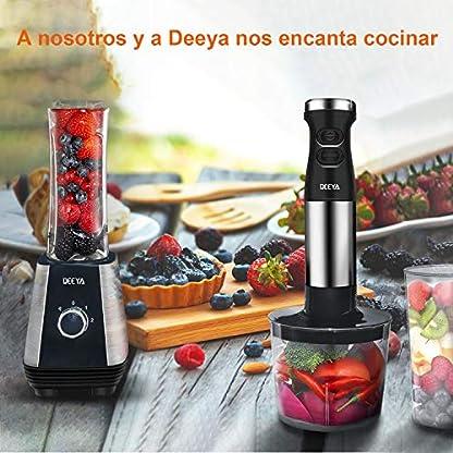 4-in-1-Stabmixerset-Deeya-Edelstahl-Stabmixer-mit-intelligentem-Geschwindigkeitskontroller-600W-Hand-held-Prierstab-mit-Schneebesen-700ml-Behlter-Becher-Schwarz