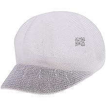 401f337e82010 Baoblaze Sombrero de Verano para Mujer Gorra de Playa Casquillo Plano de  Paja Suave Boina Vasca