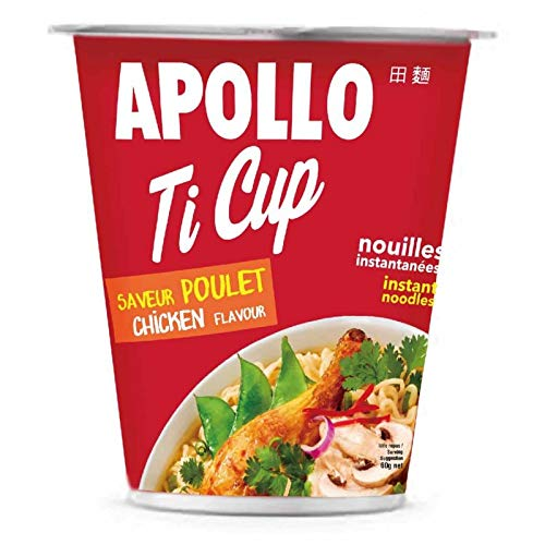 Apollo - Chicken Noodle Ti Cup 60G - Packung mit 5 Apollo Cup