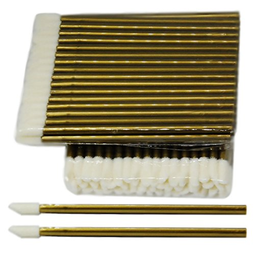 50 Stück Reinigungsstäbchen für die Wimpernverlängerung - Microblading - Microfaser und...