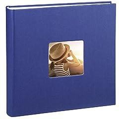 Idea Regalo - Hama Fine Art Album Fotografico, 30 X 30 cm, Blu, 30 x 30