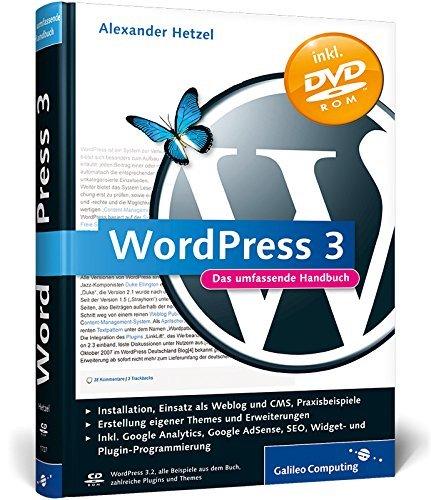 WordPress 3: Das umfassende Handbuch (Galileo Computing) by Alexander Hetzel (2011-11-28)