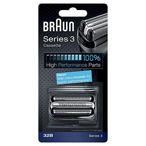 Braun - Combi-Pack 32B series 3B - Recharge Grille - cassette Noir