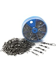 Croch Surtido de emerillones, 100unidades, de alta calidad, en lata con separadores