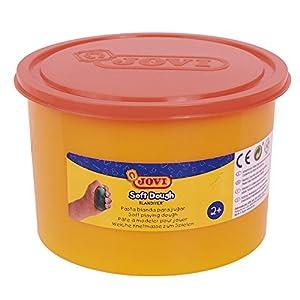 Jovi - Soft Dough Blandiver, Bote de 460 g, Color Naranja (46007)