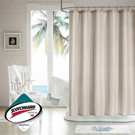 h2ology-waffle-weave-shower-curtain-w-3m-scotchgard-finish-taupe-72x72-by-h2ology