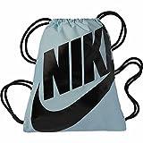Nike BA5351-413, Sacca Unisex – Adulto, Glacier Blu/Nero, Taglia Unica
