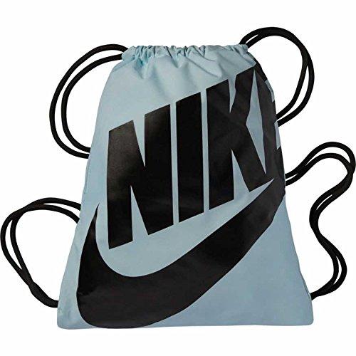 Nike Heritage Turnbeutel, Obsidian/Schwarz