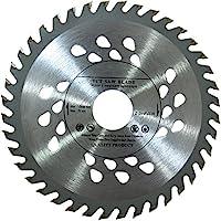 Lame de scie Inter Kert Top Quality pour scie circulaire à table 125 mm pour disques de coupe en bois Circulaire 125 mm x 22 mm x 40 Anneaux de réduction des dents 22/20 et 22/16 inclus