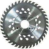 Hochwertiges Sägeblatt für Winkelschleifer, 125 mm, für Holz-Trennscheiben, rund, 125 mm x 22mm x 40mm-Zähne