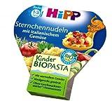 Hipp - Bio Sternchennudeln mit italienischem Gemüse - 250g