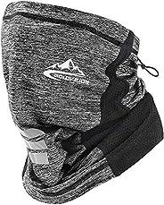 Neck Gaiter, Silk Cooling Sports Face Scarf Cover, Summer Bandana Headwear Headband, Breathable Windproof Anti