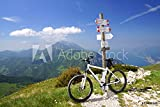Sconosciuto Druck-shop24 53439848 - Quadro su Tela, fotografie, dibond, Vetro Acrilico, Lamina forex, Pellicola Adesiva, Motivo a Scelta: e-Bike, pedelec, gardasee, Bici, Mountain Bike
