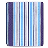 EFIXTK Extra Large Picnic Beach Blanket,Machine Washable Outdoor Mat Tote Great for the