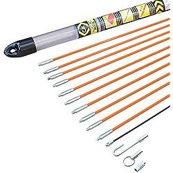 C.K T5410 Jeu de baguettes tire-fils avec accessoires, Multicolore
