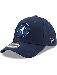 7d3c315231a Minnesota Timberwolves New Era Official Team Color The League 9FORTY  Adjustable Hat Navy