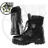 Botas táctico Boots TB de 4Lucha Botas Policía Botas securitystiefel negro Talla:42