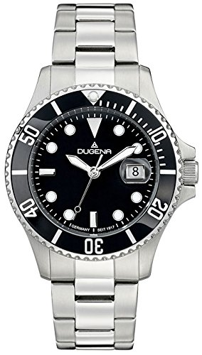 Dugena Men's Analogue Quartz Watch with Stainless Steel Strap 4460775
