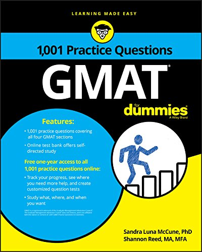 1,001 GMAT Practice Questions for Dummies PDF Books