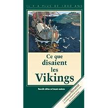 Havamal: ce que disaient les Vikings