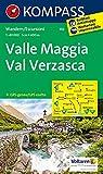 Valle Maggia - Val Verzasca: Wanderkarte. GPS-genau. 1:40000: Wandelkaart 1:40 000 (KOMPASS-Wanderkarten, Band 110) -