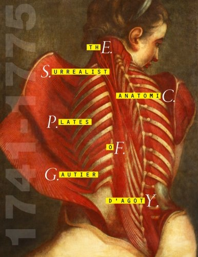 The Surrealist Anatomic Plates of Gautier d'Agoty - 1741-1775
