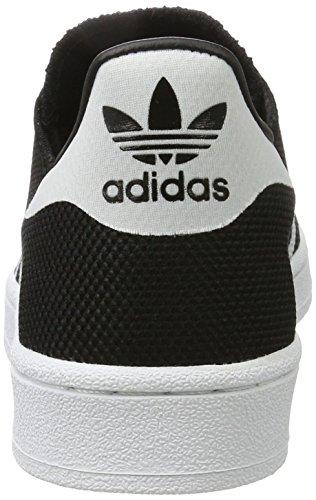 adidas Superstar, Scarpe da Basket Uomo Nero (Cblack/ftwwht/cblack)