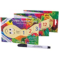 ZooBooKoo Jungle Number Line - Basic Addition and Subtraction Game